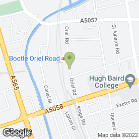 Map of Ace Despatch Courier Services in Bootle, merseyside