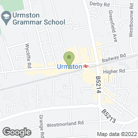 Map of Urmston Carpets in Urmston, Manchester, lancashire