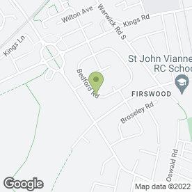 Map of ACME Designs in Firswood, Manchester, lancashire
