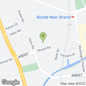 Map of NW Keys Ltd in Bootle, Liverpool, merseyside