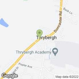 Map of RB Electrical & Security in Thrybergh, Rotherham, south yorkshire
