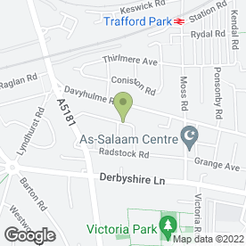 Map of ST Travel in Stretford, Manchester, lancashire