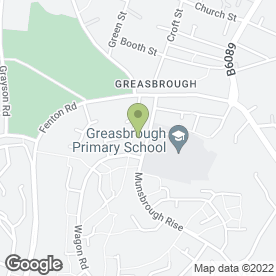 Map of Greasbrough Rising 5's Pre-School in Rotherham, south yorkshire