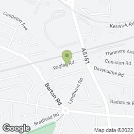 Map of Mark Galvin in Stretford, Manchester, lancashire