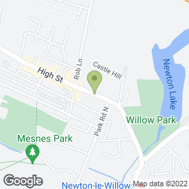 Map of National Tyres and Autocare in Newton-Le-Willows, merseyside