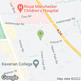 Map of Reachout in Manchester