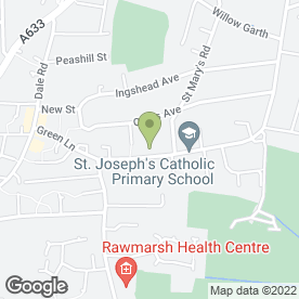 Map of EASTMAN PRIVATE HIRE TAXIS in Rawmarsh, Rotherham, south yorkshire
