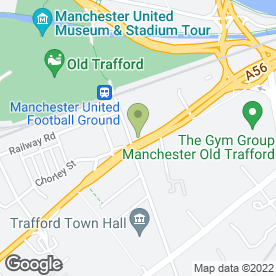 Map of Evans Halshaw in Manchester, lancashire