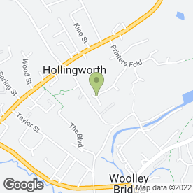 Map of Able-Entry Locksmiths in Hollingworth, Hyde, cheshire