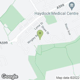 Map of Domestic Plumbing & Heating in Haydock, St. Helens, merseyside