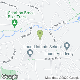 Map of Image Cleaning Services in Chapeltown, Sheffield, south yorkshire
