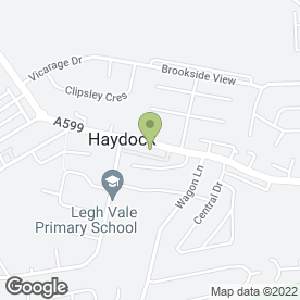 Map of Hydrorod UK Ltd in Haydock, St. Helens, merseyside