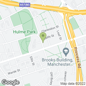 Map of Arch Medical Practice in Manchester, lancashire
