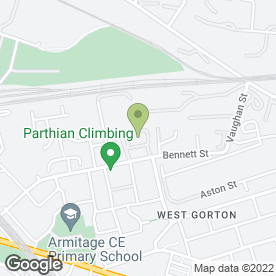 Map of Greater Manchester Recovery Ltd in Ardwick, Manchester, lancashire