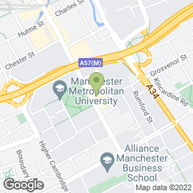 Map of Taxi Taxi in Manchester, lancashire