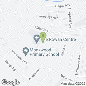 Map of Sure Start Rawmarsh in Rawmarsh, Rotherham, south yorkshire