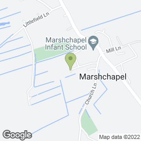 Map of B Marsh Decorators in Grimsby, south humberside