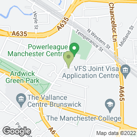 Map of Love Craft in Manchester, lancashire