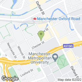 Map of Marble Media Solutions Ltd in Manchester, lancashire