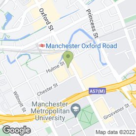 Map of STA Travel Ltd in Manchester, lancashire