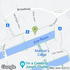 Map of Bean - The Victoria in Salford, lancashire