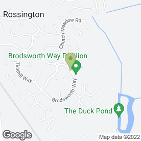 Map of KD Windows in Rossington, Doncaster, south yorkshire