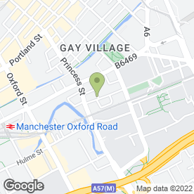 Map of Aubrey Lee & Co Commercial Estate Agents in Manchester, lancashire