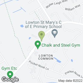 Map of Ash Hire & Sales in Lowton, Warrington, cheshire