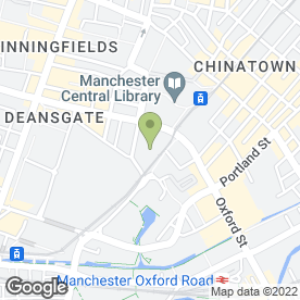 Map of Joseph Elliott Hair & Beauty in Manchester, lancashire