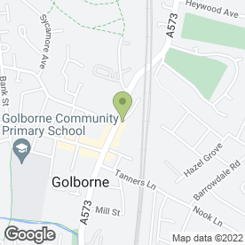 Map of Planahome in Golborne, Warrington, cheshire