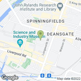 Map of Dr. C.E. Hyde in Manchester, lancashire