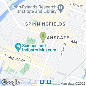 Map of 18 St. John St Chambers in Manchester, lancashire