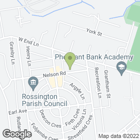 Map of Wass Travel in New Rossington, Doncaster, south yorkshire