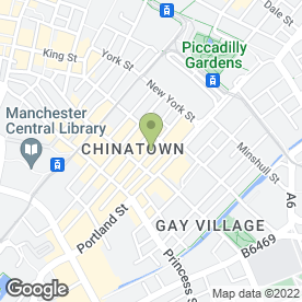 Map of Citi Travel in Manchester, lancashire