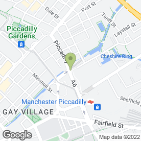 Map of Boost Juice Bars (UK) in Manchester, lancashire