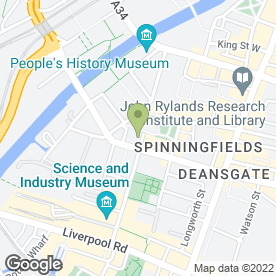 Map of John P Hodgkinson in Manchester, lancashire