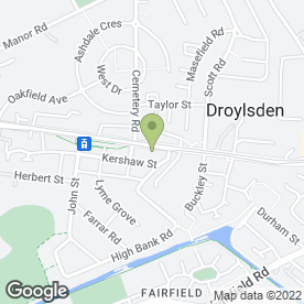 Map of Safe & Sound in Droylsden, Manchester, lancashire