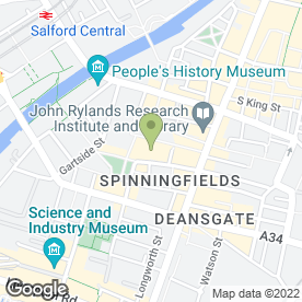 Map of Regus - Conference Facilities & Services in Manchester, lancashire