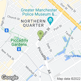Map of Van Dang Martial Arts in Manchester, lancashire