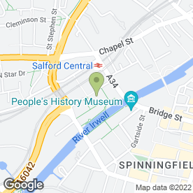 Map of Exchange Chambers in Salford, lancashire