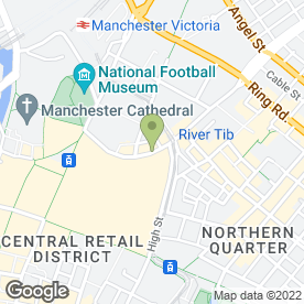 Map of Noble Cars Ltd in Manchester, lancashire