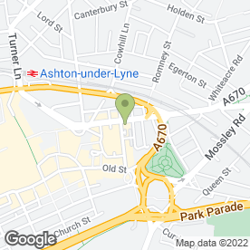 Map of Smart Way 2 Recruit Ltd in Ashton-Under-Lyne, lancashire