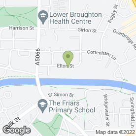 Map of P & N Breaker Hire Ltd in Salford, lancashire