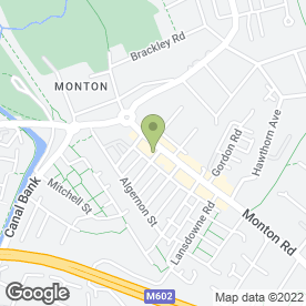 Map of DEBT SOLVED LTD in Eccles, Manchester, lancashire