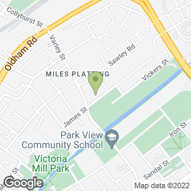 Map of Ultrade UK Ltd in Miles Platting, Manchester, lancashire