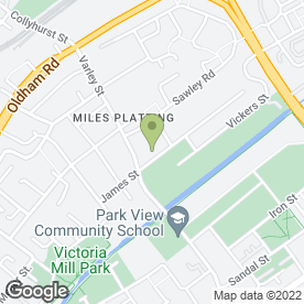 Map of EAC Business Services (Group) Ltd in Miles Platting, Manchester, lancashire