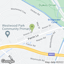 Map of Smooth Finish Plasterer in Eccles, Manchester, lancashire