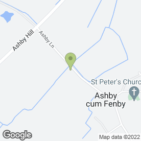 Map of Hall Farm Hotel And Restaurant in Grimsby, south humberside
