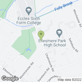 Map of PREMIER INDUSTRIAL DOORS in Eccles, Manchester, lancashire