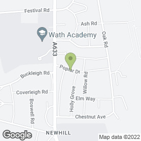 Map of Energize Plumbing & Heating in Wath-upon-Dearne, Rotherham, south yorkshire